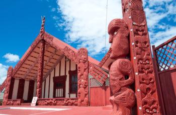 Na Cultura Maori: Te Marae
