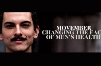 MOVEMBER (Moustache + November)
