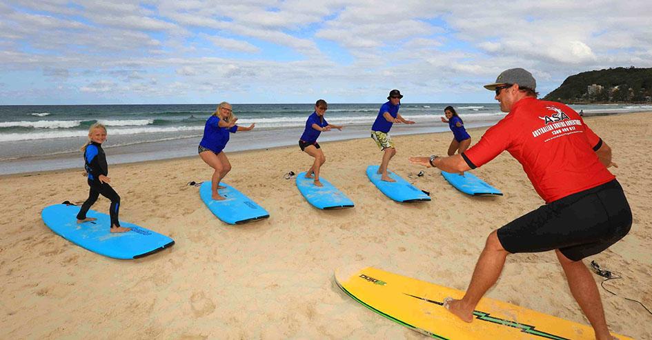 surf austrália esportes