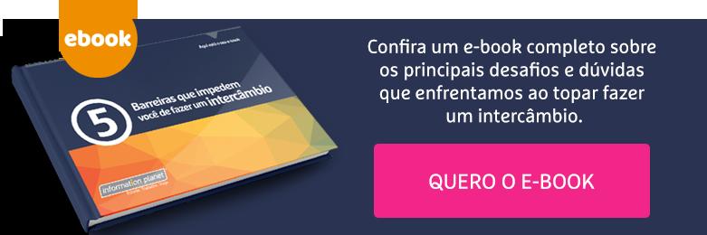 E-book 5 barreiras que impedem você de fazer um intercâmbio