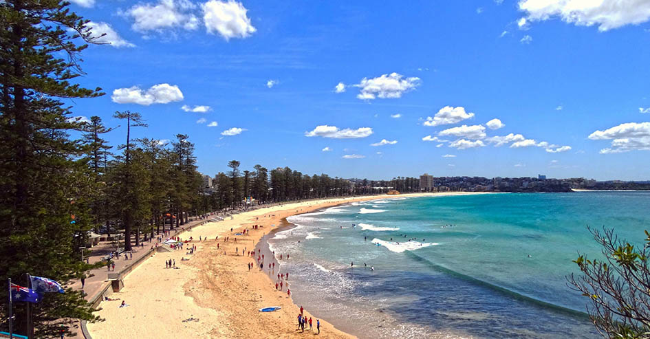 Manly Beach Austrália