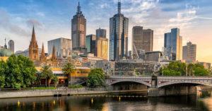 principais cidades australianas Melbourne