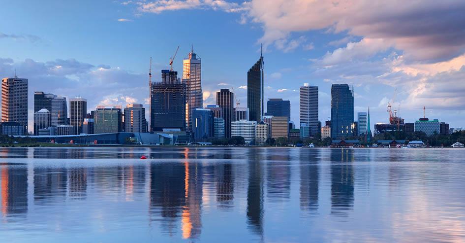 principais cidades da austrália para fazer intercâmbio Perth