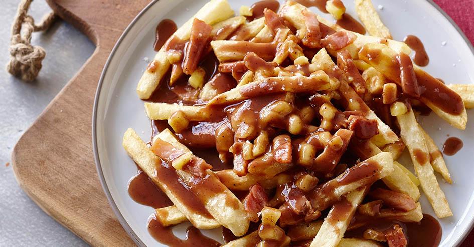 comida típica Canadá