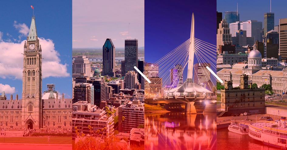 custo de vida canada diferenca cidades