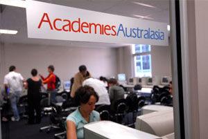 escolas austrália ACA