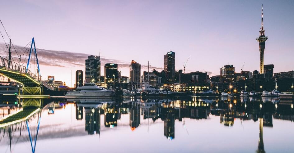 cidade Auckland Nova Zelândia