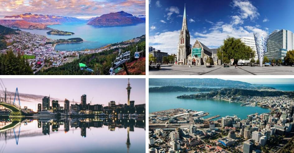 cidades nova zelândia
