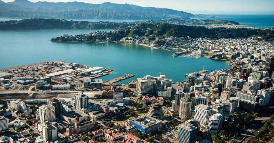 cidade Wellington Nova Zelândia