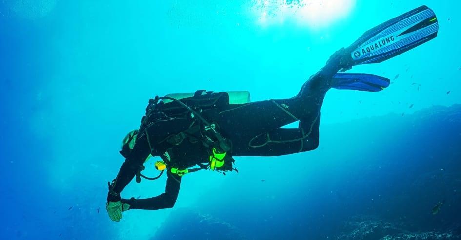 Monitor de mergulho