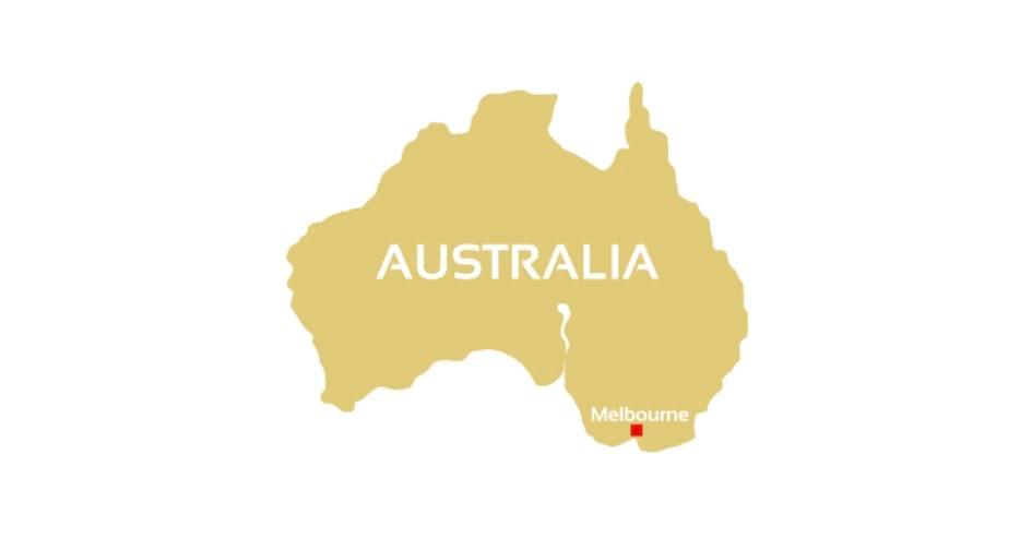 Melbourne localização