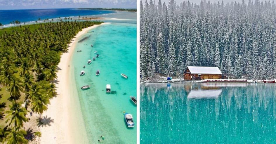 canadá ou austrália clima